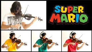 Super Mario Theme - VIOLIN ROCK cover!