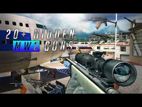 20+ hidden MW2 guns | Modern Warfare 2 Secret Weapons