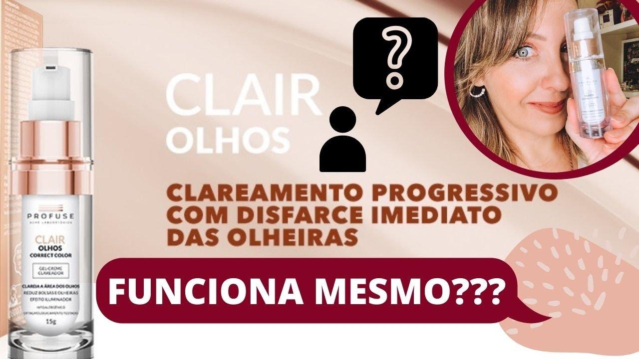 CLAREADOR PARA OLHEIRAS CLAIR OLHOS CORRECT COLOR PROFUSE