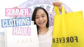 Summer Clothing Haul 2016! | ThatsBella