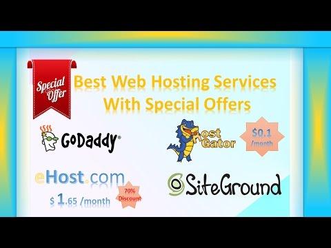 Best Web Hosting Services 2017