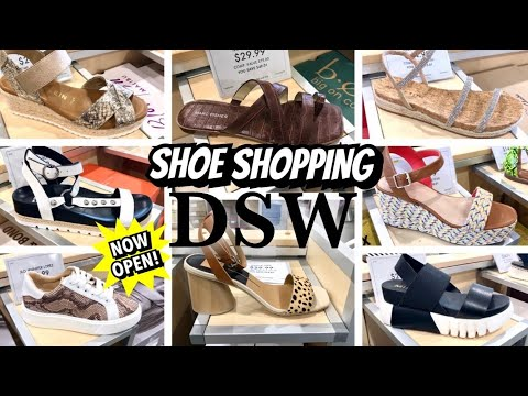 SHOE SHOPPING AT DSW | VIRTUAL SHOP WITH ME | COLLAB WITH SHANICE SHOPPING SAGA