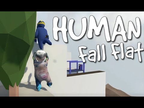 Human Fall Flat - He is Fast!!! [SPEED RUN] - ONLINE