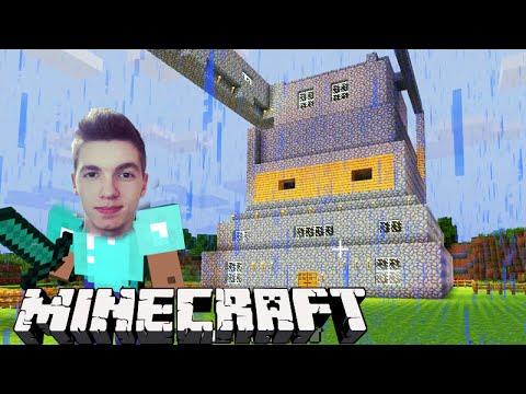 Minecraft: INICIANDO O CASTELO! (Parte 01) - Sobrevivendo com Lipão #19