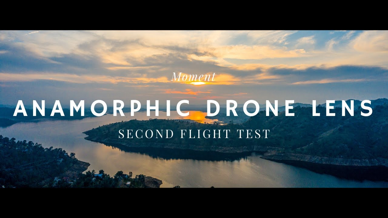 Mavic 2 Pro Drone Anamorphic Lens Cine ND Filter ND 8 Moment