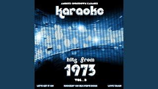 Leave Me Alone (Ruby Red Dress) (In the Style of Helen Reddy) (Karaoke Version)