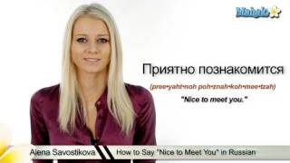 Russian Pleased To Meet You 41