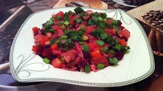 Салат Винегрет / Vinaigrette Salad / Простой Салат / Овощной Салат / Пошаговый Рецепт