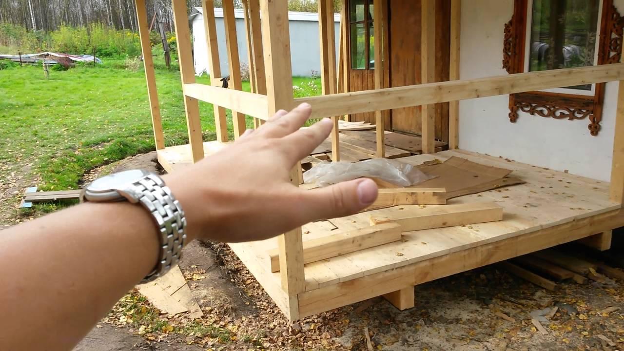 Построить теплую веранду к дому своими руками фото 526