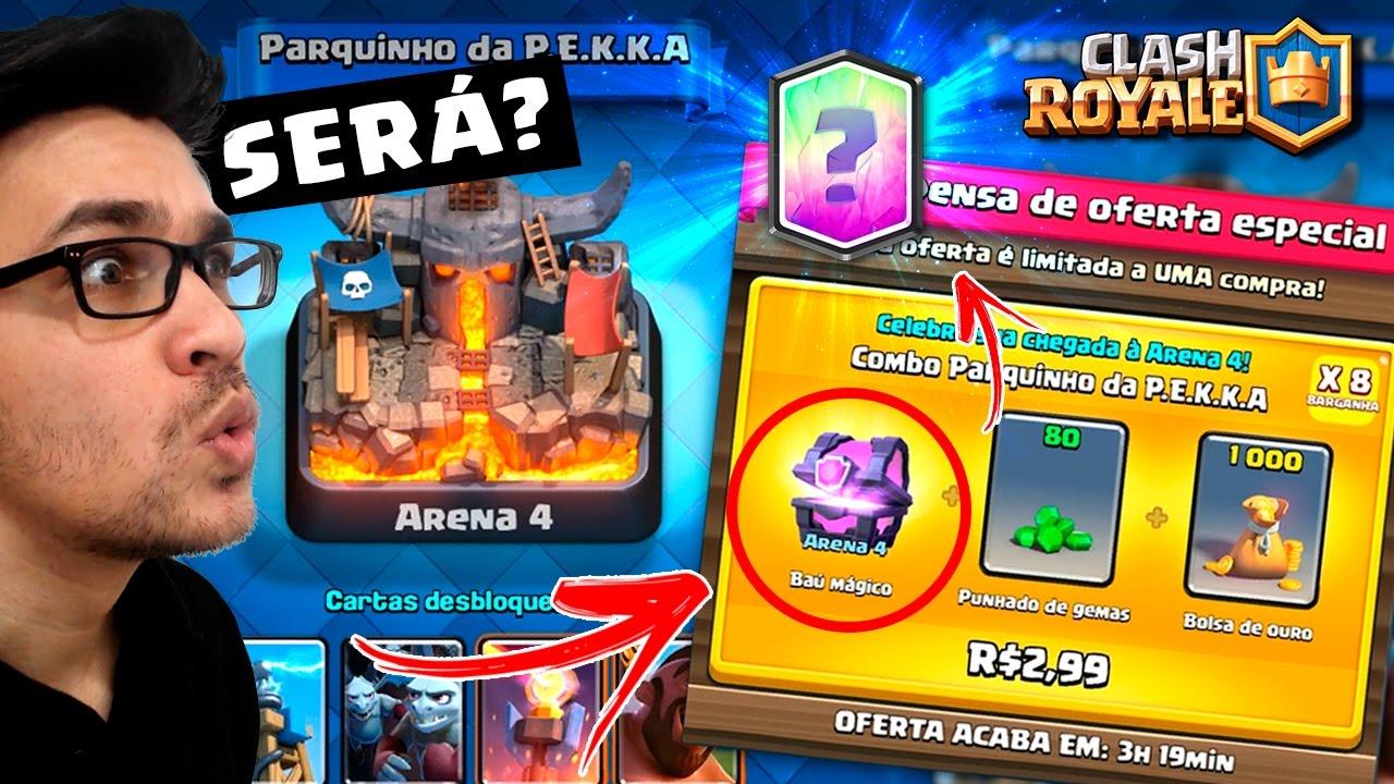 dd3822966 COMPREI OFERTA ESPECIAL PRA MINHA CONTA NV 1  VEIO CARTA LENDÁRIA  - CLASH  ROYALE - YouTube