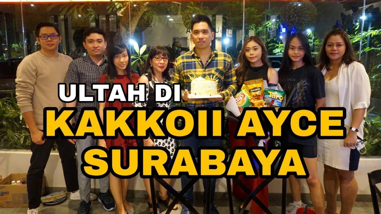 Akhirnya Bisa Rayain Ultah ! Nyobain Kakkoii All You Can Eat Surabaya
