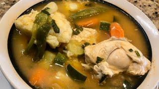 Caldo De Pollo (delicious Chicken Soup )