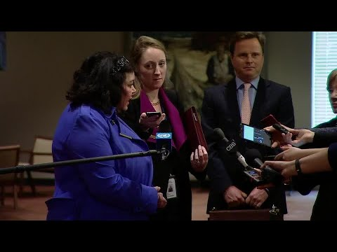 United Kingdom On The Situation In The Middle East (Yemen) - Media Stakeout (17 April 2018)