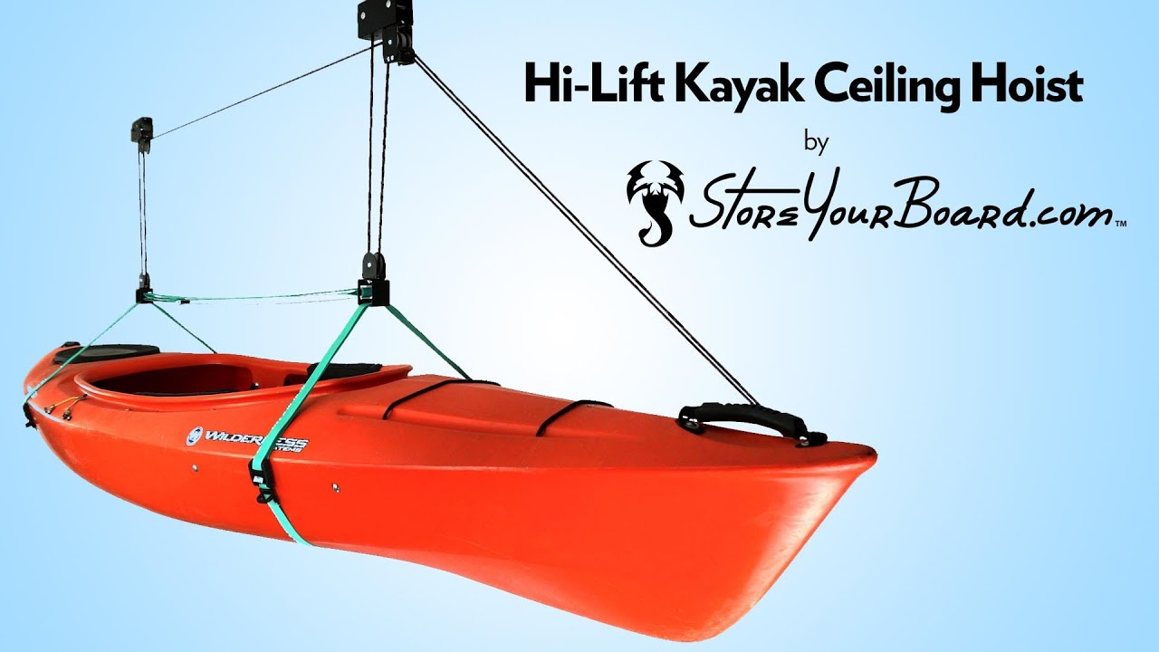 Hi Lift Kayak Ceiling Hoist