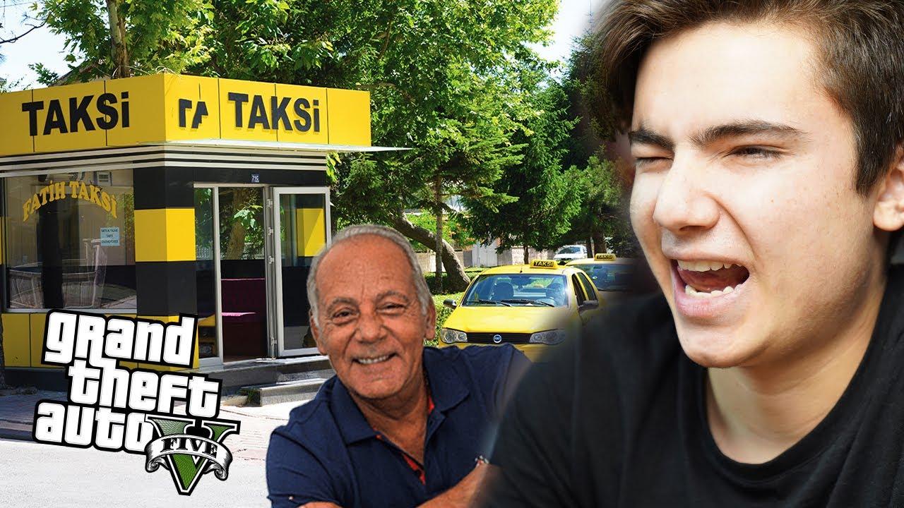GTA 5 Gerçek Hayat,  - Taksi Durağı Artık Benim !