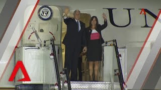 US Vice President Mike Pence arrives in Singapore US Vice President Mike Pence arrived in Singapore on Tuesday (Nov 13) for an official visit. He will attend the ASEAN summit and related meetings on behalf of ...
