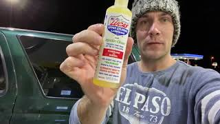 Lucas Fuel Additive: More MPGs or not? 17.5 MPG + Lucas = ??? MPG