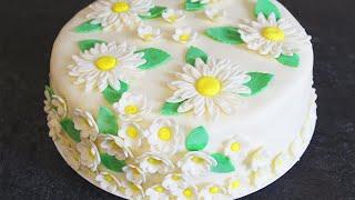 Готовим Вкуснейший Бисквитный Торт с Мастикой🍰😋 Пошаговый Рецепт Как Приготовить Бисквит и Мастику