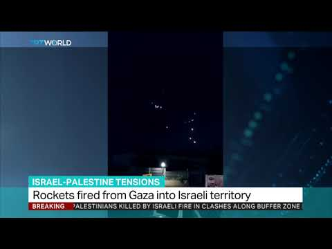 Rockets fired from Gaza into Israeli territory