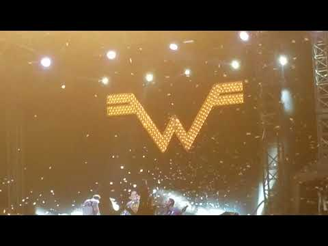 Weezer~ Say It Ain't So 8/18/18 Omaha Ne