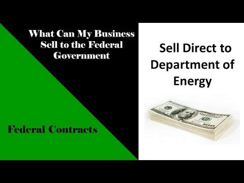 What Can I Sell to Dept of Energy - Top Products & Services