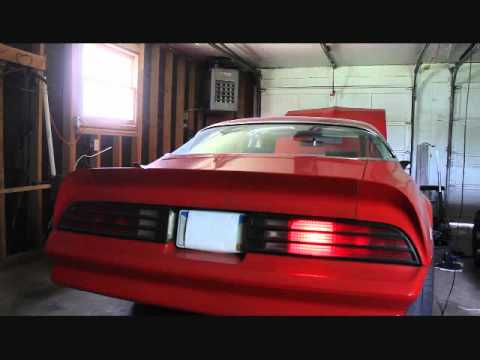 Web Electric Seq Tail Light Sps 1 On 1978 Trans Am Youtube