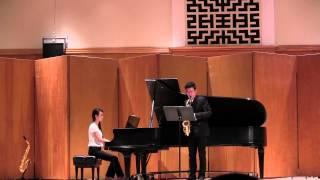 Alto Saxophone Concerto - 1st movement: Lento espressivo, Allegro, by Pierre Max Dubois