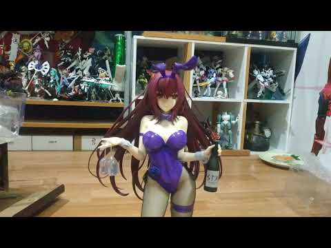 UNBOXING! 1/4 FREEING Bunny Scathach from Fate Grand Order