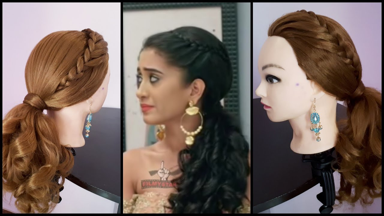 Everyday Hairstyle For Girls. Ponytail Hairstyle Inspired ...