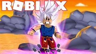 I TURNED the TOP INSTINCT FULL on ROBLOX (Dragon Ball in Roblox) ‹ chicken ›