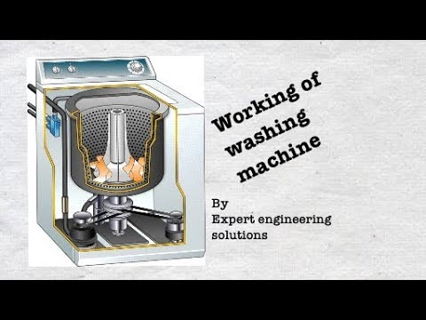 Working of Washing machine (Hindi) by Expert Engineering Solutions