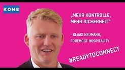 """Klaas Neumann: """"Mehr Kontrolle, mehr Sicherheit mit KONE 24/7 Connect"""" [2019]"""