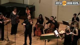 Giuseppe Tartini - Violin Concerto  - Largo andante - Croatian Baroque Ensemle