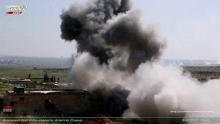Сирия Syria HD ★ Алеппо. Ближний бой в Хандарате 05.04.2016