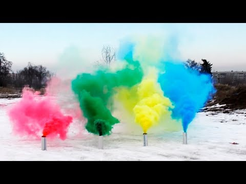 HOW TO MAKE COLORED SMOKE GRENADES
