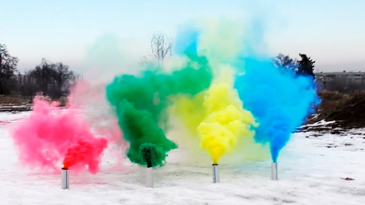 how to make colored smoke grenades youtube