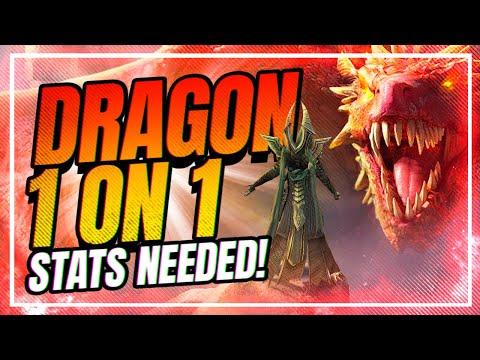 Bad el Kazar SOLO Dragon 20 Build! | RAID Shadow Legends