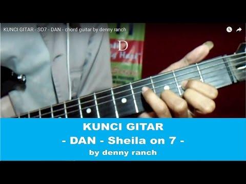 KUNCI GITAR - SO7 - DAN - chord guitar   by denny ranch