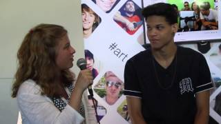 Younow Sensation Andrew Fontenot Interview At Vidcon 2015