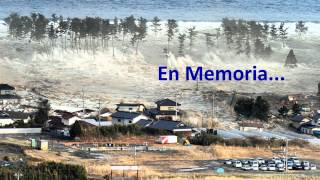 Repeat youtube video Tsunami Japon en memoria 2012