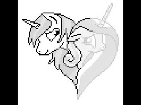 Sandbox Coloring раскраска шайнинг армор и принцесса каденс май литл пони