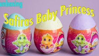 SAFIRAS Baby Princess | 3 Surprises | Unboxing