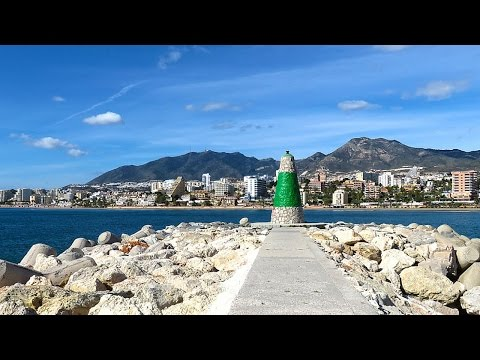 Winter in Malaga (Travelling in Spain)