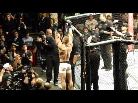 UFC 205 Conor McGregor Entrance vs Eddie Alvarez MSG New York Live