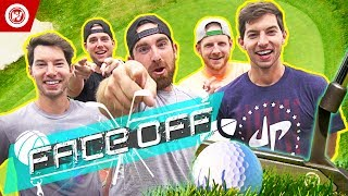 Dude Perfect Golf FACE OFF | Jon Rahm & Wesley Bryan thumbnail