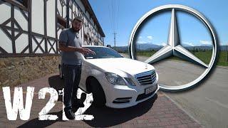 Обзор Mercedes-Benz E350. Квадратный МЕРЗавец. 4к
