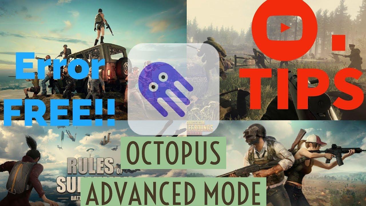 OCTOPUS TIPS & Error Free ADVANCED mode ACTIVATION
