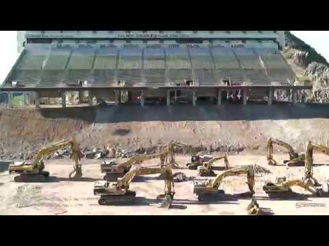 ASU Sun Devil Stadium   Phase 2 Time Lapse 2016