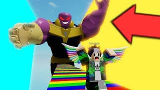 ⭐ WE ESCAPE FROM THE EVIL THANOS! | ROBLOX ⭐