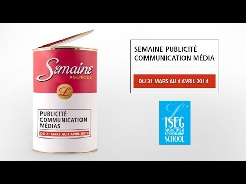 Semaine Publicité Communication Médias à l'ISEG Group - Campus de Paris